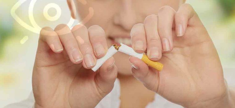 The Visual Health Hazards of Cigarette Smoking